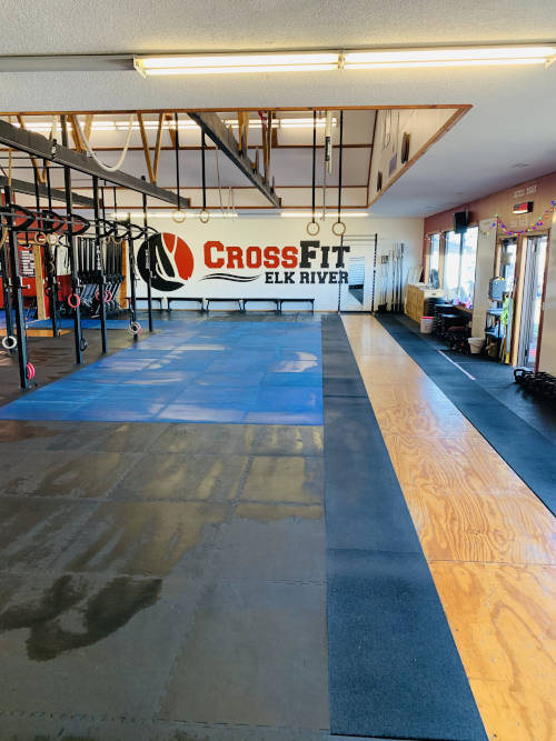 CrossFit Elk River Olympic Lifting Alley